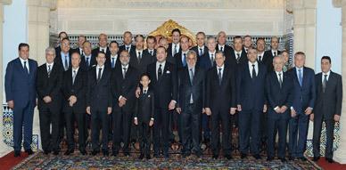 جلالة الملك محمد السادس يترأس مراسم تعيين أعضاء الحكومة الجديدة