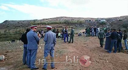 توقيف 95 مرشحا للهجرة بينهم نساء وأطفال بجماعة تازاغين باقليم الدريوش