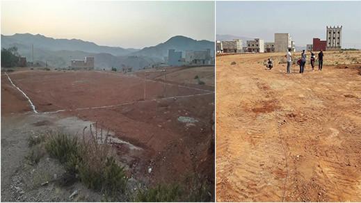 وعود زائفة ببناء ملعب للقرب تدفع نشطاء بتمسمان الى إطلاق حملة على الإنترنت لدعم حلمهم