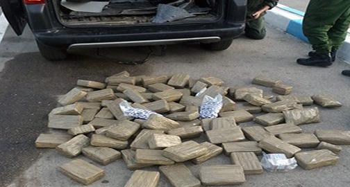 توقيف مغربي حاول تهريب 840 كلغ من مخدر الشيرا الى اوروبا