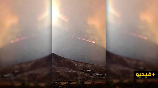 الدريوش.. اندلاع حريق بالمجال الغابوي لجماعة تفرسيت وحديث عن الاستعانة بطائرات لإخمادها