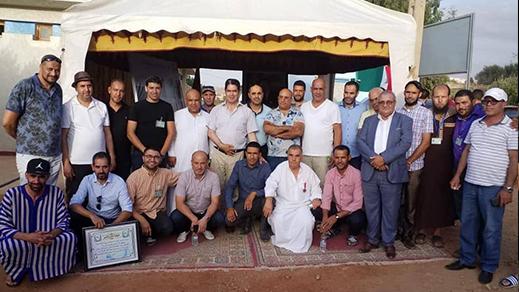 الفتاحي يدشن مشروع تزويد قرية أجدير بجماعة تمسمان بالماء الصالح للشرب