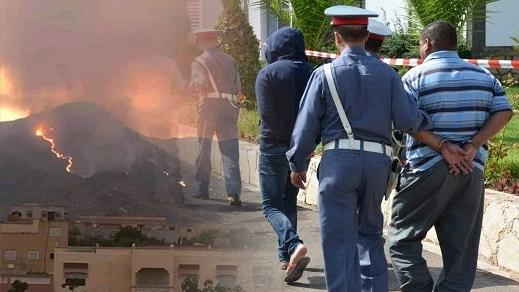 توقيف شخصين يشتغلان في الرعي يشتبه بتورطهما في إندلاع حريق غابة إفرني