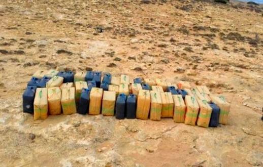 العثور على حوالي طن ونصف من المخدرات على ضفاف سواحل الناظور والدريوش