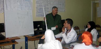 دورة تكوينية لفائدة الطلبة الأساتذة في موضوع بيداغوجيا الإدماج بمركز تكوين المعلمين بالناظور