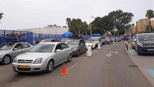 عودة أزيد من ألف سيارة إلى ديار المهجر عبر ميناء مليلية