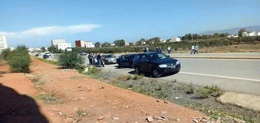 سيارة تزهق روح سيدتين بإمزورن وترسل طفلا صغيرا الى مستشفى الحسيمة في حالة خطيرة