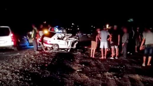 موكب زفاف يتحول إلى مأساة بالحسيمة اثر حادثة سير خطيرة بجماعة النكور