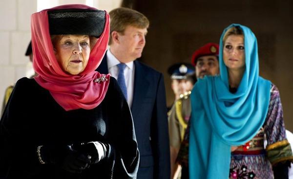 """الملكة بياتركس.. حديث فيلدرز حول الحجاب """"حماقة حقيقية"""""""