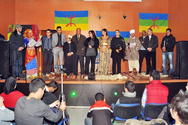 مدينة أزغنغان تحتفل بأسكاس أمينو 2962 على إيقاع التكريم والإبداع