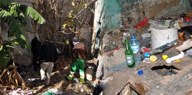 ساكنة حي قدماء المحاربين بالناظور تشكو السلطات المحلية الخطر الأمني الذي يهددها