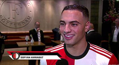 """الدولي المغربي سفيان أمرابط رسميا بفريق """"هيلاس فيرونا"""" الإيطالي"""