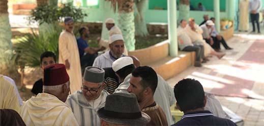 الزاوية القادرية بالدريوش تحي موسمها الديني وسط حضور عدد من مريديها
