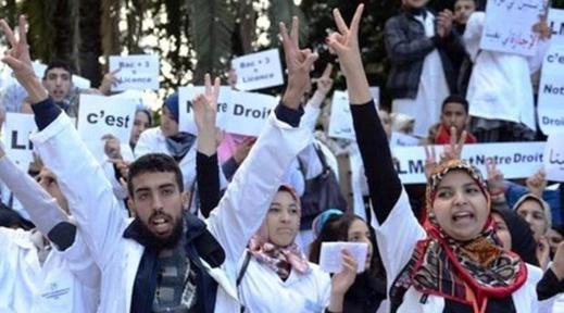 الممرضون يعلنون عودتهم للإضراب احتجاجا على وزارة الدكالي