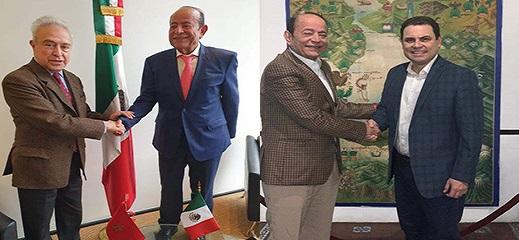 عبد القادر سلامة يجري لقاءات مكثفة بالمكسيك