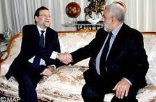 راخوي يحل بالمغرب ويجري مباحثات مع جلالة الملك ورئيس الحكومة
