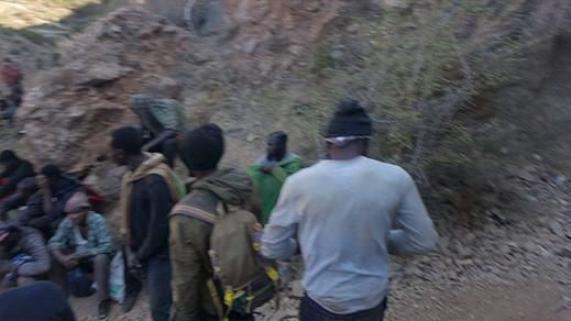 """احباط عملية """"حريك"""" مجموعة من المهاجرين جنوب الصحراء بتزاغين"""