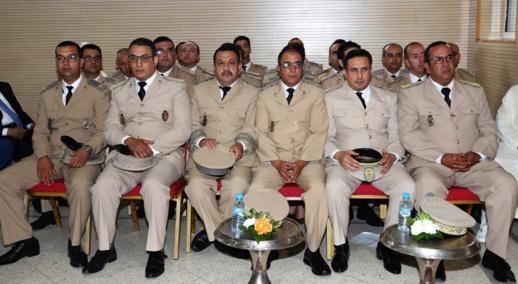 تنصيب عدد من رجال السلطة الجدد المعينين بإقليم الحسيمة