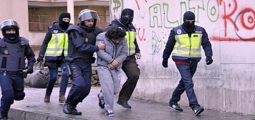 مطلوب بألمانيا وفرنسا.. اعتقال مغربي بإسبانيا ضمن شبكة لداعش