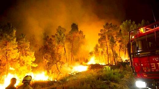 إسبانيا.. أزيد من 8800 حريق في 8 أشهر يتسبب في إتلاف 71 ألف هكتار من الغابات