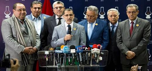 """حزب """"التقدم والاشتراكية"""" يدرس مسألة الانسحاب من حكومة العثماني"""