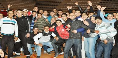 تنظيم محكم ومباريات متميزة لأمسية نادي محمد علي للملاكمة بالقاعة المغطاة بالناظور
