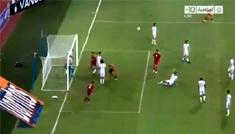 أهداف مباراة المغرب وتونس