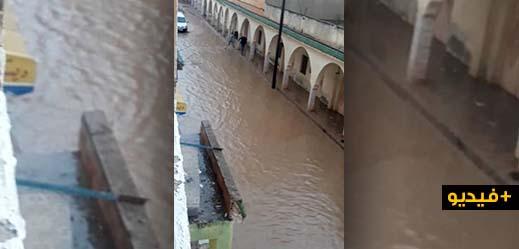 أمطار شتنبر تحول شوارع بلدة كرونة إلى برك مائية وتكشف مجددا واقع البنية التحتية بتمسمان