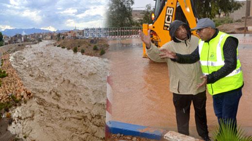 بالصور.. أمطار عاصفية ترفع من منسوب الأودية بالدريوش وعمالة الإقليم تستنفر أطقم خلية اليقظة