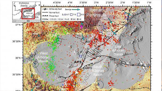 دراسة جديدة تكشف فالقا كان وراء الهزات الأرضية الاخيرة بمنطقة الريف