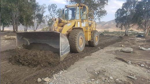 الدريوش.. إعادة فتح مسالك طرقية مغلقة بسبب الفيضانات الأخيرة بجماعة ميضار