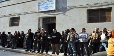معطلو الناظور يتضامنون مع الإطار الراحل عبد الوهاب زيدون