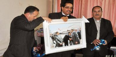 الأطر التعليمية والتربوية بالناظور تحتفي بالنائب الإقليمي السابق محمد البور