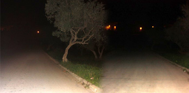 طريق حي الوحدة بسلوان.. ظلام في ظلام