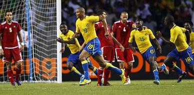 فهود الغابون تنقض على أسود الأطلس وتخرجهم من البطولة الإفريقية من الباب الخلفي