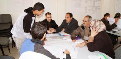 جمعية ثسغناس تواصل تنظيم ورشات تكوينية في موضوع تخطيط المشاريع