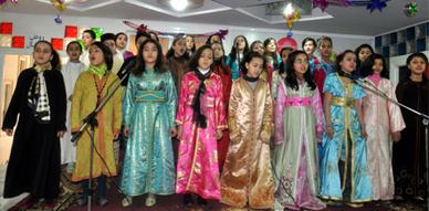 مؤسسة الرسالة تنظم حفلا دينيا بهيجا لفائدة تلامذتها بمناسبة عيد المولد النبوي الشريف