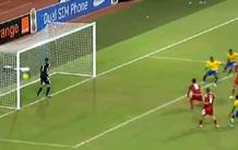 أهداف مباراة المغرب والغابون