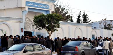 معطلو الناظور ينجحون من جديد في نسف مباراة وزارة الداخلية