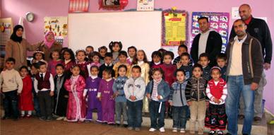 براعم التعليم الأولي لجمعية التنمية والتعاون بتاويمة يحتفلون بنهاية الأسدس الأول من الموسم الدراسي