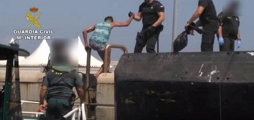 خفر أمن سواحل إسبانيا ينقذ 26 مرشحا للهجرة السرية أبحروا من الحسيمة