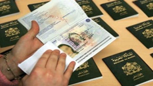 توقيف 6 اشخاص بينهم سيدة قاموا بتزوير جوازات سفر للدخول الى مليلية