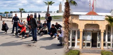 أرباب الصيد التقليدي بمنطقتي بوعرك والجزيرة ينظمون وقفة احتجاجية أمام مندوبية الصيد البحري ببني انصار