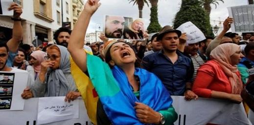 """حقوقيون يحذرون من تدهور صحة معتقلي """"حراك الريف"""" المضربين عن الطعام"""