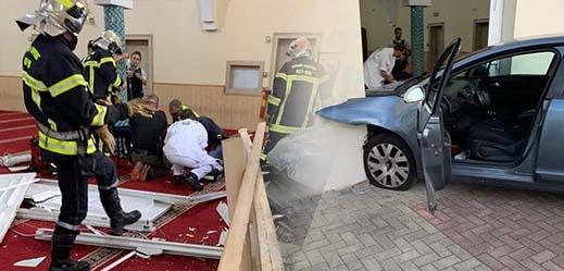 رجل يحاول اقتحام مسجد بسيارته عمدا في شرق فرنسا