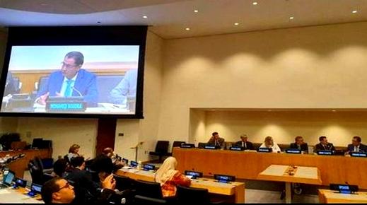 من مقر الأمم المتحدة.. رئيس جماعة الحسيمة يستعرض التحديات التي يواجهها المغرب في مجال المناخ