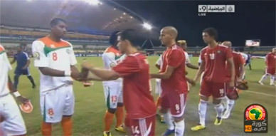 هدف المنتخب المغربي في مرمى النيجر