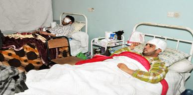 الناشط الأمازيغي فكري الأزرق يغادر المستشفى بعد تحسن حالته الصحية ويتوجه بتشكراته كل من آزره في محنته