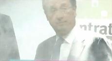 فرانسوا هولاند يتعرض للرشق بالطحين