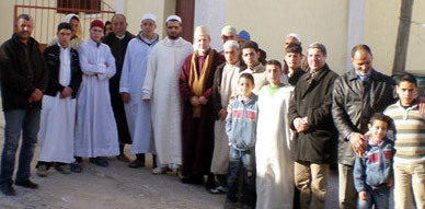 المجلس العلمي المحلي لإقليم الناظور يحتفي بأعمال خيرية بالمدرسة  القرآنية بالحيانا لوطا
